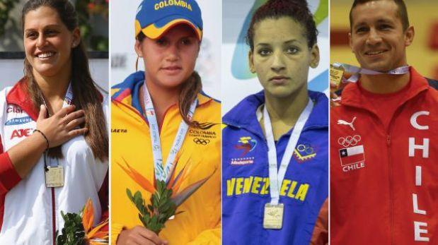 Así va el medallero general de los Juegos Bolivarianos Trujillo 2013