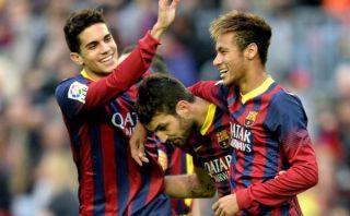 Barcelona goleó 4-0 a Granada y sumó su quinto triunfo seguido en Liga