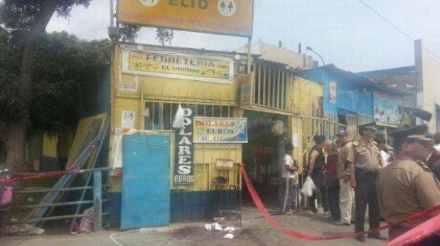 Balacera en Cercado de Lima: asalto a cambista dejó una persona herida