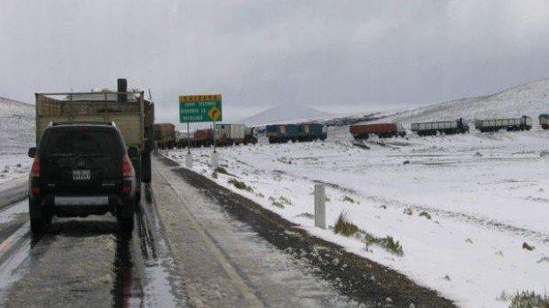 Senamhi prevé descenso de temperaturas mínimas en la sierra sur y central