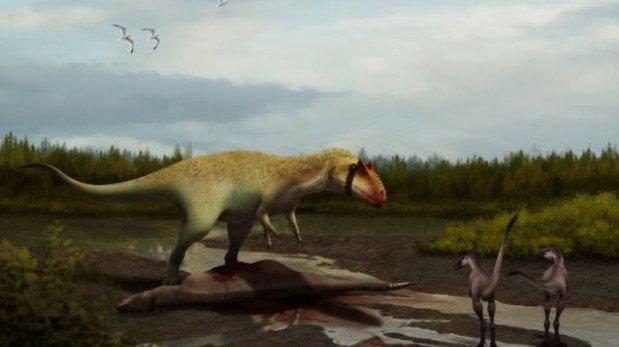 La semana en que hubo un dinosaurio gigante más y una rana diminuta menos