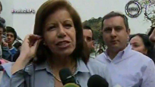 """Lourdes Flores sobre supuesta infracción de Villarán: """"La ley debe ser cumplida"""""""