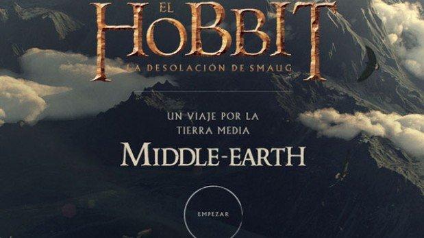"""Visita la Tierra Media de """"El Hobbit"""" en este mapa virtual de Google"""