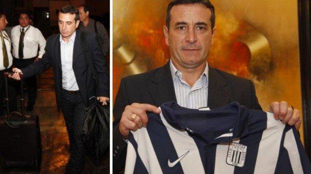 Nuevo DT de Alianza Lima Guillermo Sanguinetti llegó esta madrugada