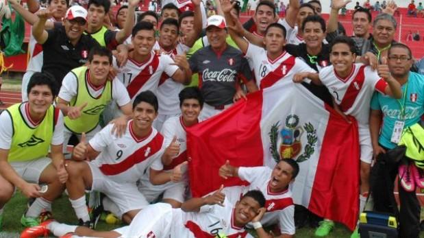 """Selección Sub 15 de Perú """"piensa en grande"""" y """"deja todo en la cancha"""""""