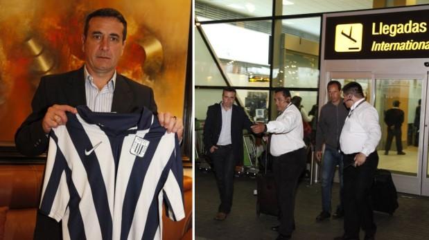 Guillermo Sanguinetti firmó como nuevo técnico de Alianza Lima por todo el 2014 [FOTOS]