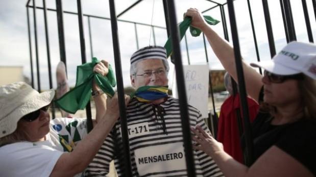Brasil: ex ministro condenado por corrupción pide que solo deba dormir en prisión