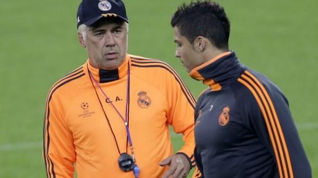 Ancelotti confirma que Cristiano no jugará mañana ante Galatasaray