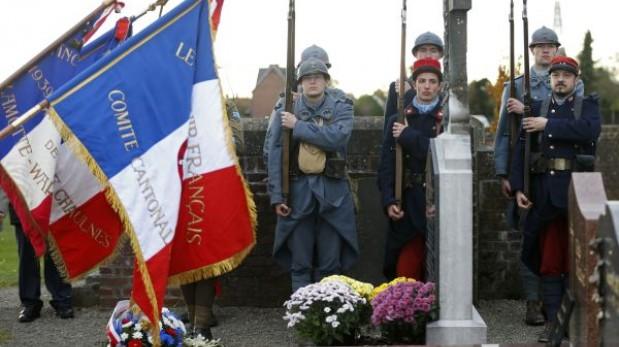 Francia propone conmemorar un partido de fútbol jugado en la Primera Guerra Mundial