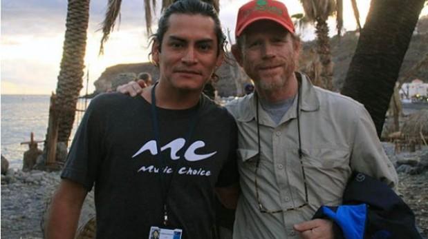 Actor peruano narra su experiencia de trabajar en la nueva película de Ron Howard