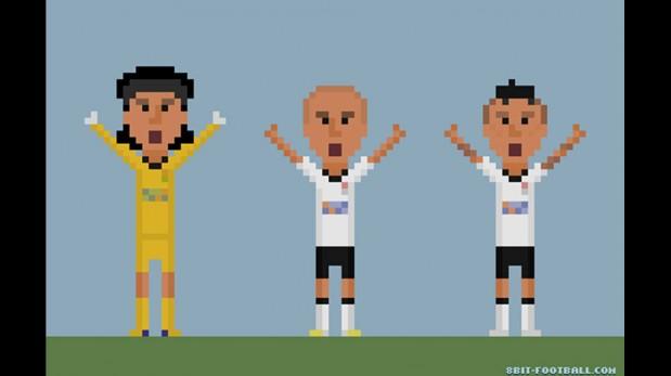 Las escenas más recordadas del fútbol mundial en imágenes de 8 bits [GALERÍA]