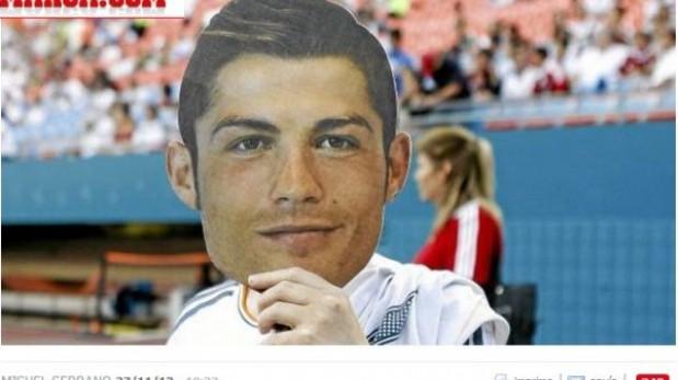 45 mil Cristianos en el Bernabéu: Real Madrid repartirá máscaras del portugués