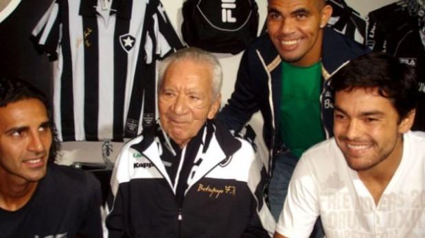 Murió Nilton Santos, campeón con Brasil en los mundiales del 58 y 62