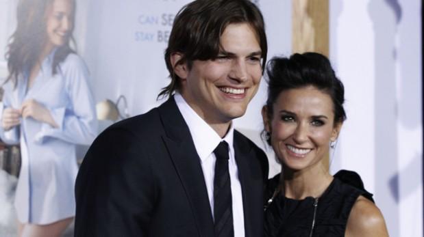 Ashton Kutcher y Demi Moore ya están oficialmente divorciados