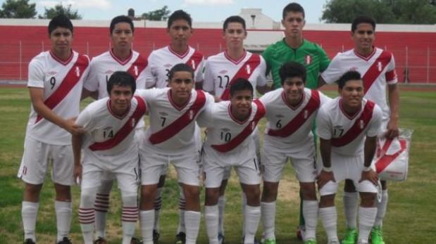 Perú enfrenta hoy a Chile por su pase a la final del Sudamericano Sub 15