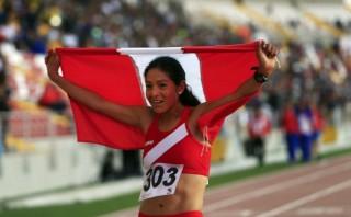 Inés Melchor ganó el oro en los 5 mil metros e impuso récord en los Bolivarianos