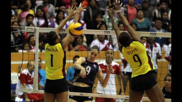 Vóley: la selección peruana aplastó 3-0 a Colombia y peleará hoy por la medalla de oro ante Venezuela [FOTOS]