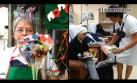 Las damas de lazos azules luchan con amor contra el cáncer [VIDEO]