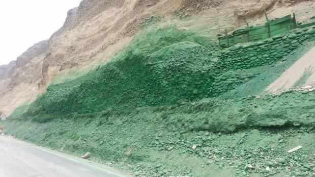 La Costa Verde y la pintura con la que Emape busca evitar los deslizamientos de piedras [FOTOS]