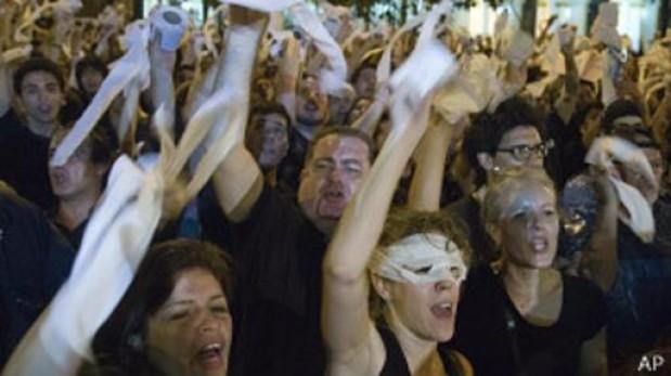La victoria de los indignados paraguayos