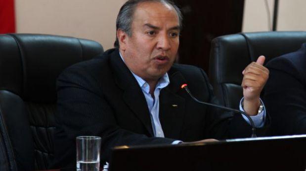 Jorge Acurio fue inhabilitado como presidente regional de Cusco