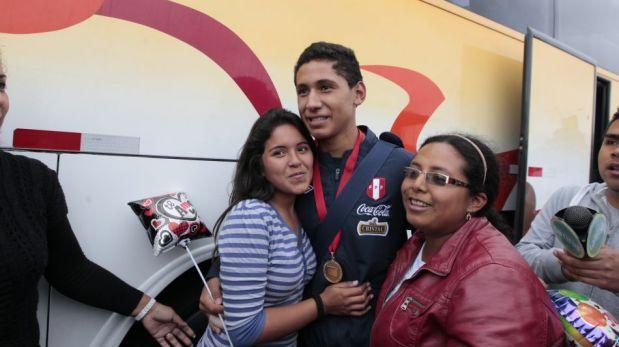 Así fue la llegada de la selección peruana Sub 15 a Lima tras obtener el título del Sudamericano [FOTOS]