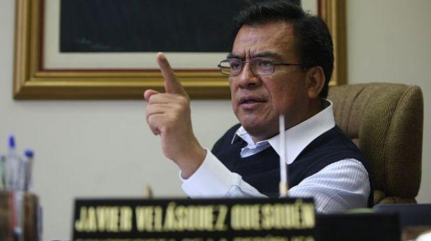 """Velásquez Quesquén: """"¡Que un fujimorista presida comisión López Meneses!"""""""