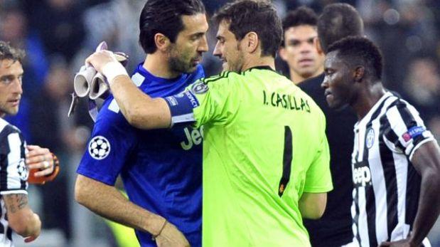 Casillas y Buffon nominados para ser portero del equipo ideal del 2013