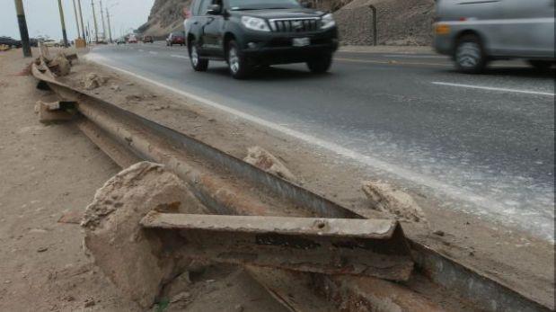 Tránsito en la Costa Verde se complicaría por obras