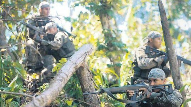 ¿Carne de cañón? En el Vraem han muerto 52 jóvenes del servicio militar desde el 2005