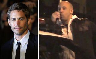 Vin Diesel dio un emotivo discurso en el lugar donde murió Paul Walker [VIDEO]
