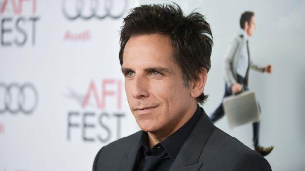 Ben Stiller se lució junto a su bella esposa en avant premiere en Los Ángeles [FOTOS]