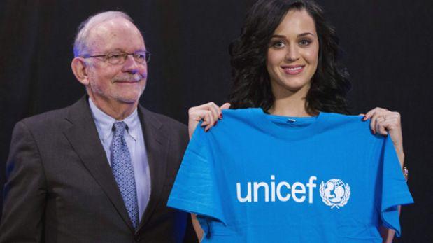 Katy Perry planea visitar el Perú en el 2014 como embajadora de Unicef