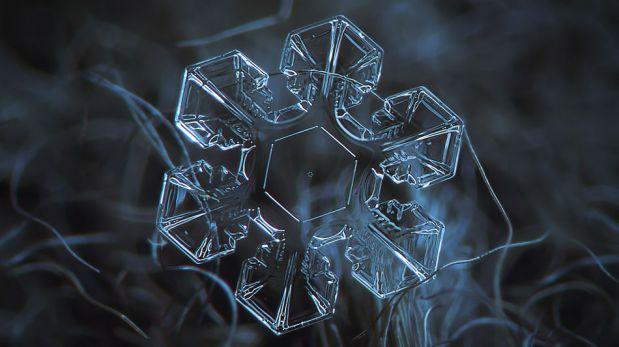 La deslumbrante belleza de los cristales de hielo que componen la nieve [FOTOS]