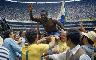 A Pelé solo le importa que Brasil sea campeón del Mundial 2014
