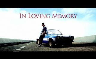 """Paul Walker: """"Rápidos y furiosos"""" le rindió este emotivo homenaje [VIDEO]"""