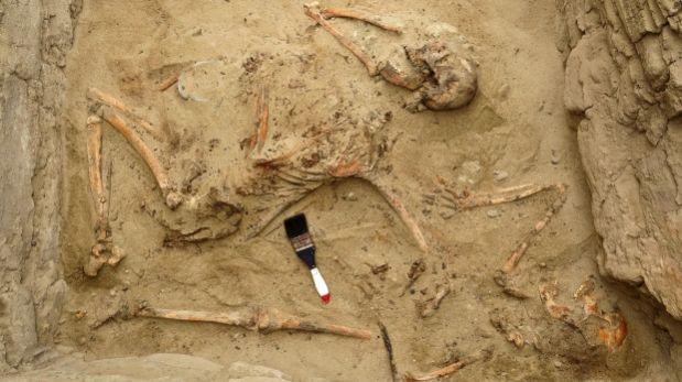Descubren tumba con los misterios del Chimú tardío