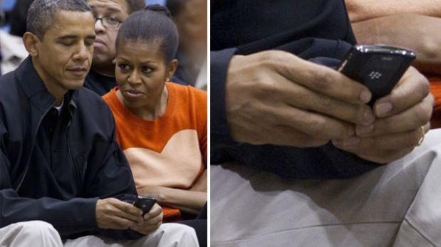 """Barack Obama dice que no le permiten tener un iPhone por """"razones de seguridad"""""""
