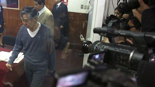 Juicio a Fujimori por diarios chicha fue suspendido nuevamente