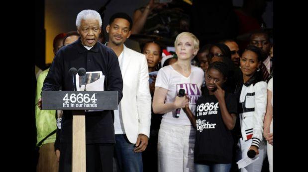 Nelson Mandela, el líder político admirado por las grandes celebridades [FOTOS]