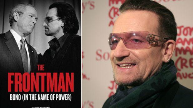 "Libro acusa al líder de U2 de ""venderse a los intereses del capitalismo"""