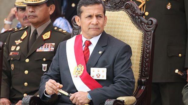 """Ollanta Humala: """"Corruptos y traidores no deben ser vinculados de nuevo con el Ejército"""""""