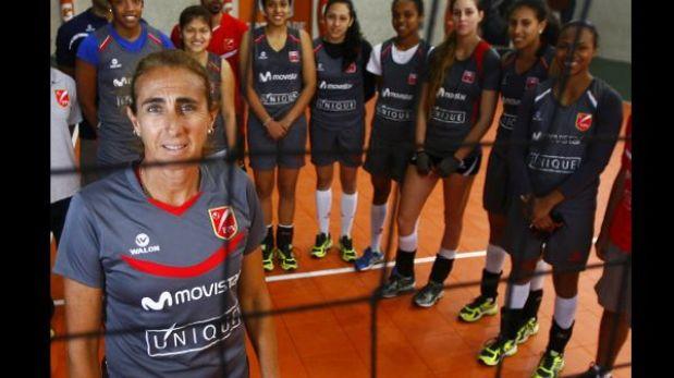 Natalia Málaga seguirá dirigiendo a las mayores hasta el 2016