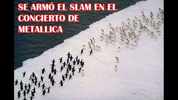 Los memes que dejó la presentación de Metallica en la Antártida [FOTOS]