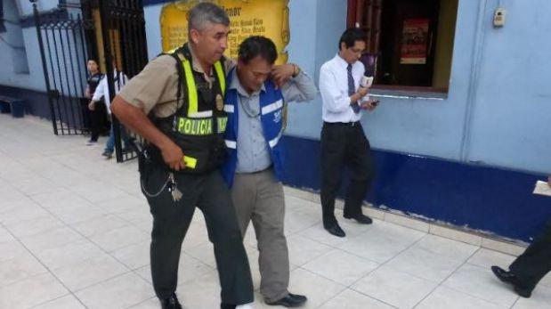 Dos policías fueron atropellados en operativos en Cercado de Lima y SJL