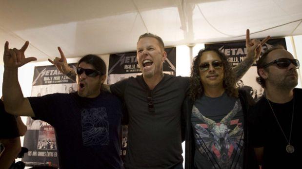 Aseguran que Metallica ofrecería nuevo concierto en Lima en el 2014