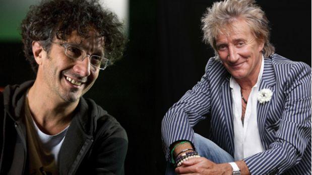 Rod Stewart y Fito Páez son confirmados para Festival de Viña del Mar 2014