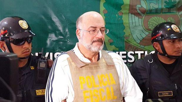 Sujeto buscado por el FBI cumplirá sentencia en el Perú antes de ser extraditado