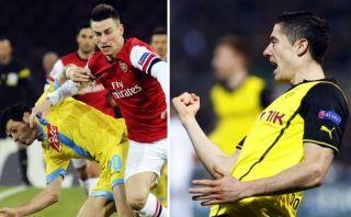 Dortmund y Arsenal clasificaron y Napoli quedó fuera de la Champions