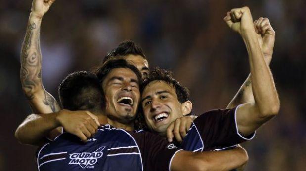 Lanús venció 2-0 a Ponte Preta y se proclamó campeón de la Sudamericana